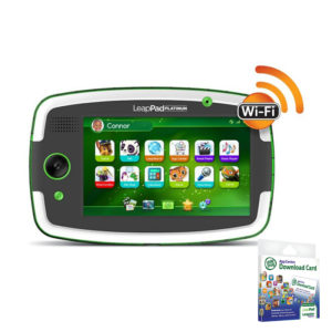 LeapPad Platinum Green With App Center Card Bundle