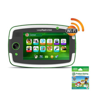 LeapPad Platinum Green With Paw Patrol-Collection Bundle