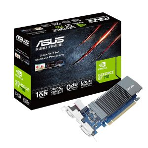 ASUS GeForce GT 710 1GB DDR3 low profile graphics card