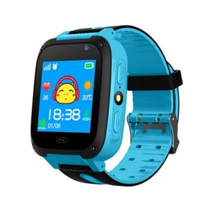 Q9 Kids Smart Watch with 2 Way Voice Call, SOS Call & LBS Location Tracking (Blue)