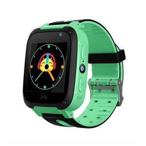Q9 Kids Smart Watch with 2 Way Voice Call, SOS Call & LBS Location Tracking (Green)