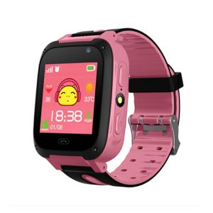 Q9 Kids Smart Watch with 2 Way Voice Call, SOS Call & LBS Location Tracking (Pink)