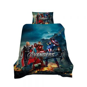 Avengers / Ultron 3D Printed Single Bed Duvet Cover Set