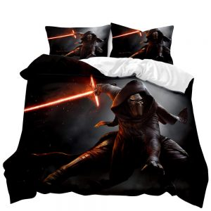 STAR WARS Darth Vader 3D Printed Double Bed Duvet Cover Set