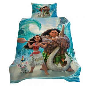 Moana 3D Printed Single Bed Duvet Cover Set